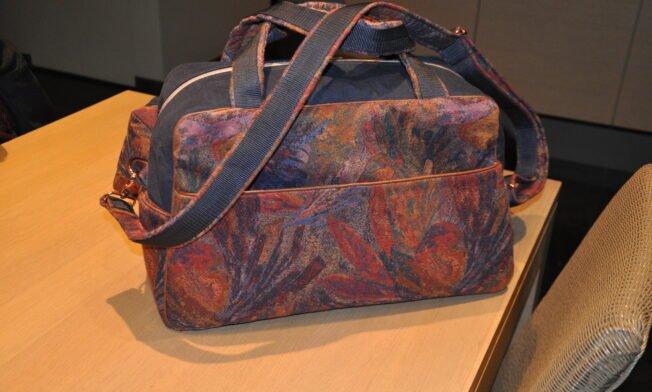 Weekend-bag Stella, Geo-bag 007