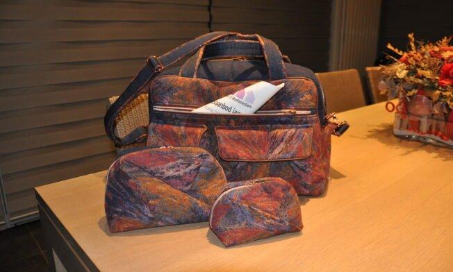 Weekend-bag Stella, Geo-bag 013