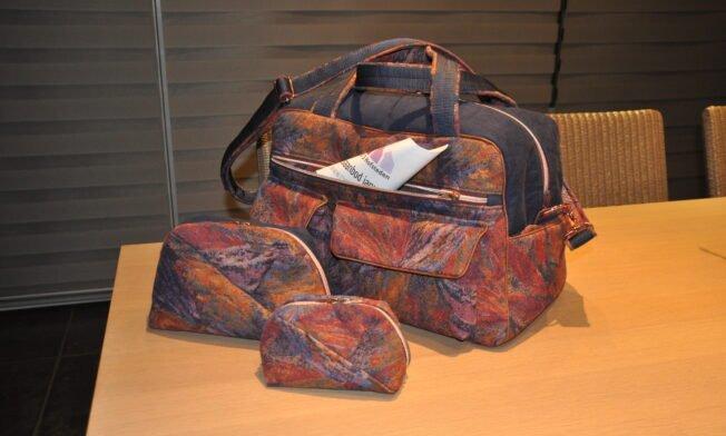 Weekend-bag Stella, Geo-bag 014