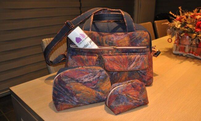 Weekend-bag Stella, Geo-bag 017