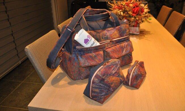 Weekend-bag Stella, Geo-bag 018
