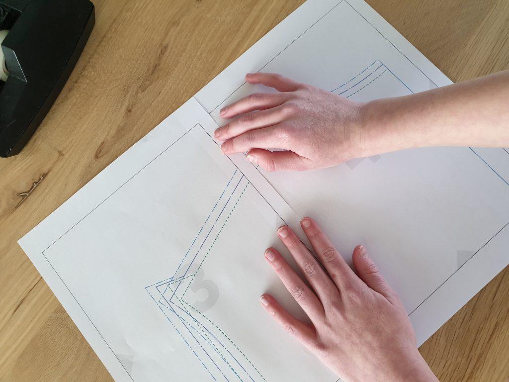 pdf patroon plakken