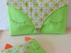 Foxy nappy bag