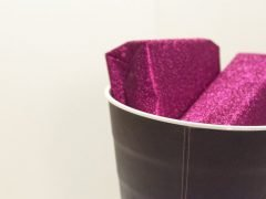 How to make a decorated bin for presents and paper