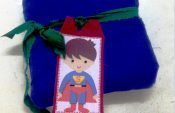 How to make superhero gift tags