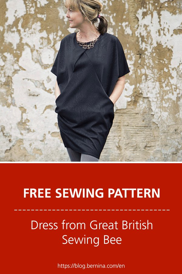 Great British Sewing Bee Dress - Free pattern with full instructions