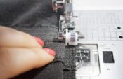 How to sew blind hems