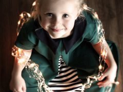 Tipps & instructions for sewing a festive children's dress