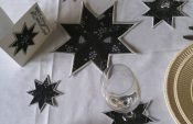 Easy instructions for creating star applications for your festive decoration
