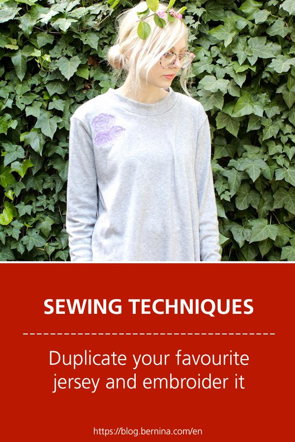 Free sewing instructions for duplicating your favourite jersey