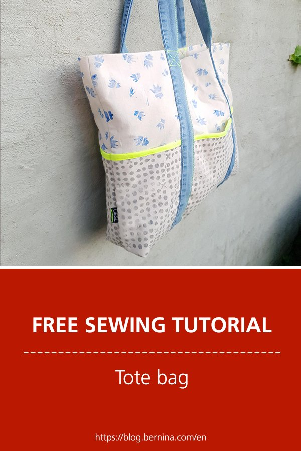 Free sewing instructions: Tote Bag