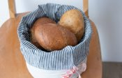Sewing a bread & bun basket