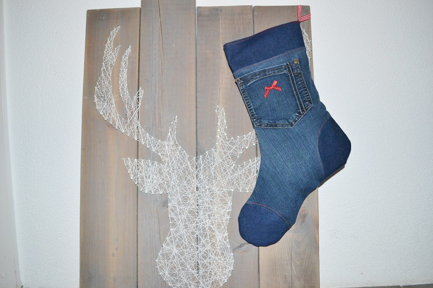 Upcycling project: Sewing Christmas stockings from fabric remnants