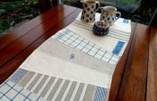 Table Runners and Placemats from Old Linens