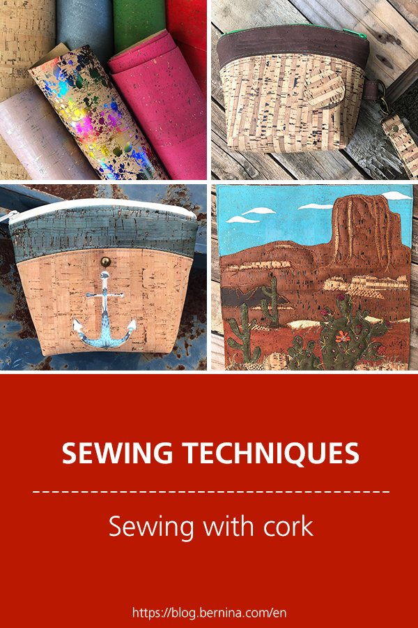 Sewing techniques & tutorials: Sewing with cork fabric